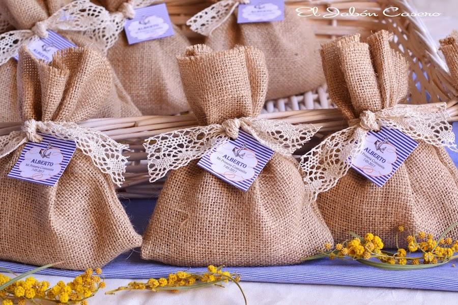 Saquitos perfumados naturales para comunion marinera