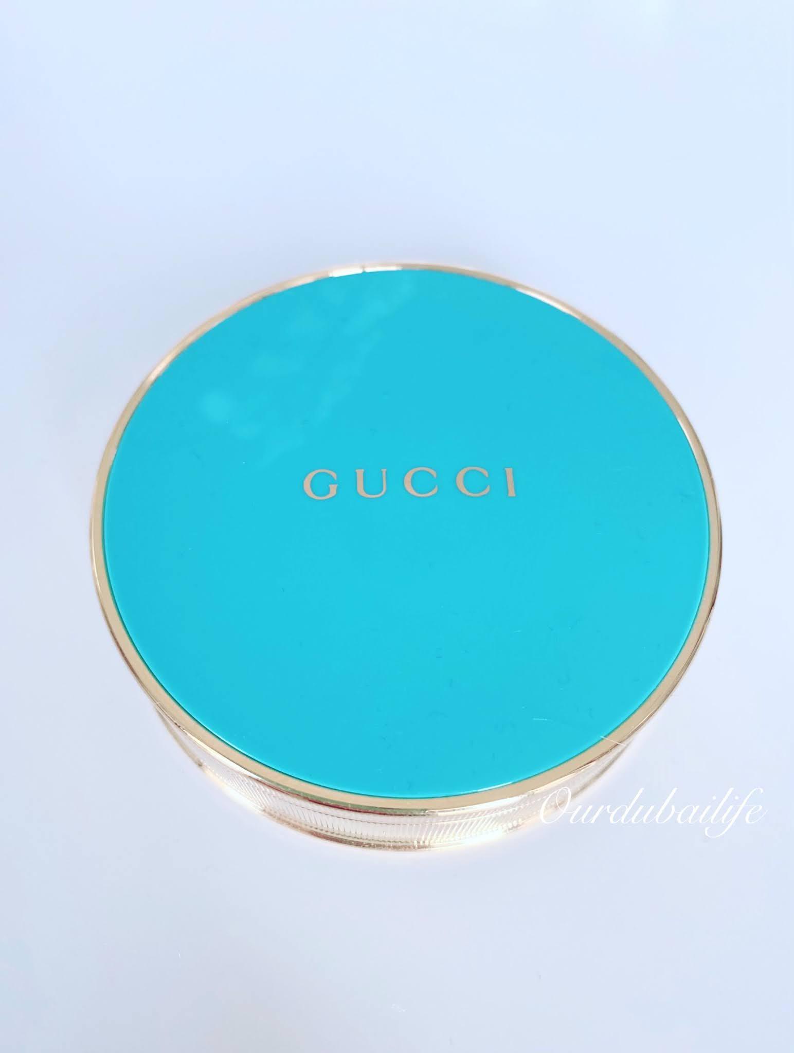 Gucci turquoise bronzer. Poudre De Beauté Éclat Soleil Powder.