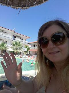 Διακοπές στην Κρυοπηγή Χαλκιδικής πισίνα