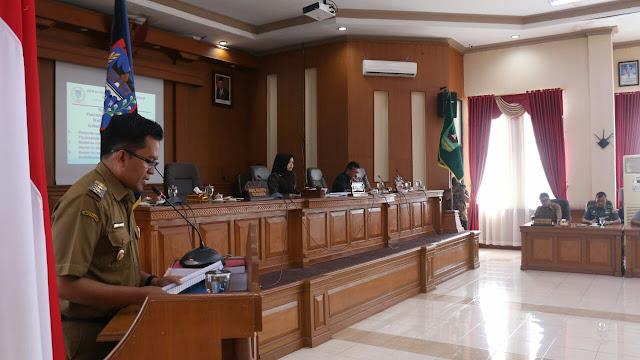 Pemko Payakumbuh Sampaikan Tiga Ranperda ke DPRD Kota Payakumbuh