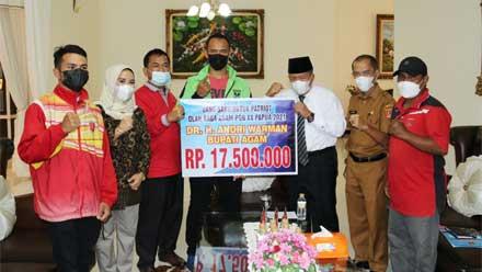 Tujuh Atlet Agam ke PON XX Papua
