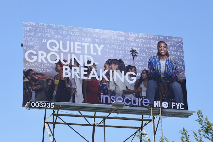 Insecure season 4 Emmy FYC billboard