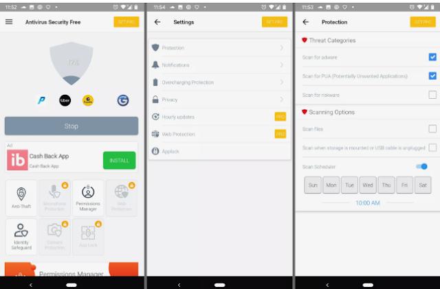 4+ Aplikasi Antivirus Gratis Terbaik untuk Ponsel Android 2