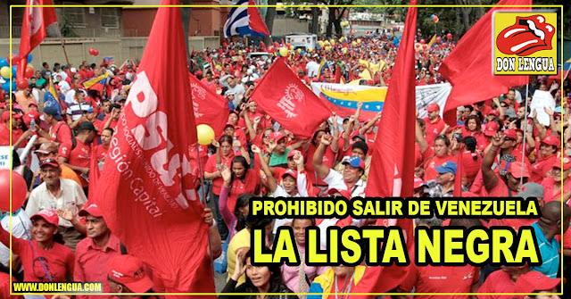 Diputado propone enviar lista con miembros del PSUV a todos los países para que no los dejen entrar