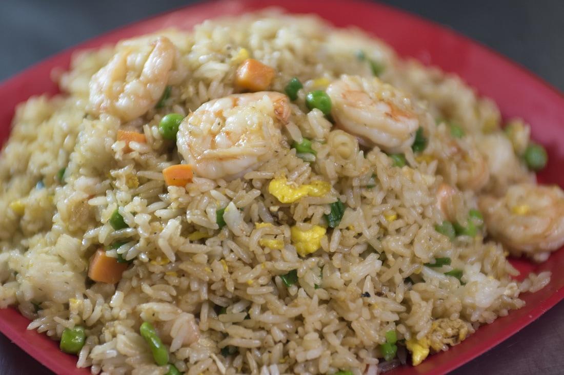 receta arroz chino frito con verduras