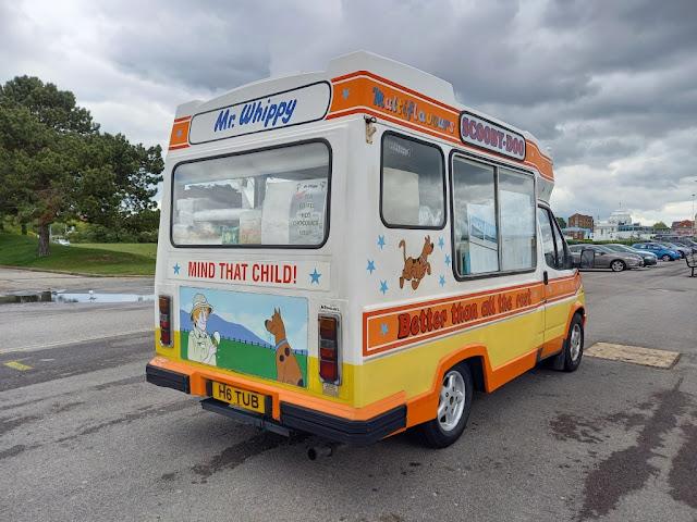 A Scooby Doo Ice Cream Van