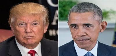 اوباما و ترامب