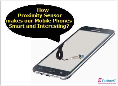 proximity sensor mobile phone