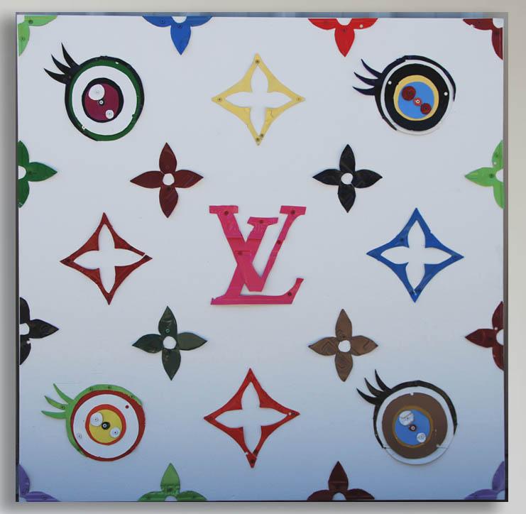 Takashi Murakami's Louis Vuitton Pattern by Michael Kalish