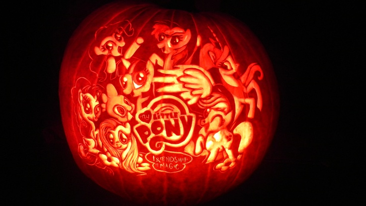 My Little Pony Pumpkin Carving Image Source
