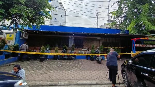 Nakal Kafe Lokasi Penembakan di Cengkareng Buka Sampai Dini Hari