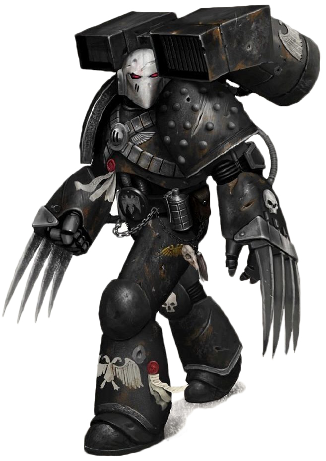 Shoulder Pad LEGION MK II CRUSADE ARMOUR - *BITS* Forgeworld 2x