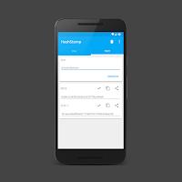 こちらはAndroidのハッシュ値生成アプリ