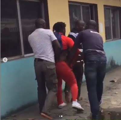 """""""Is It Illegal To Make Dance Videos In Nigeria"""" - Korra Obidi Cries Out Over Police Brutality Of Fellow Dancer (VIDEO)"""