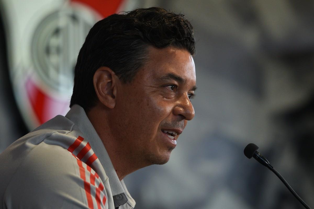 """Conferencia de prensa de Marcelo Gallardo: """"No somos un desastre, jugamos mal dos partidos"""", aseguró el DT de River"""