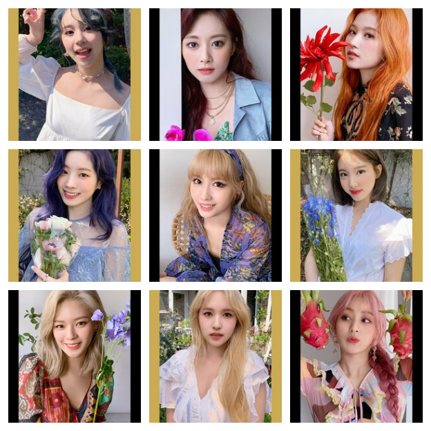 Twice More and More Preorder Photocards
