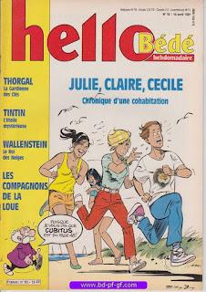 Hello-Bébé, numéro 16, 1991, Julie, Claire, Cécile