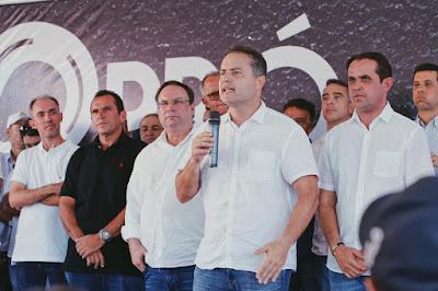Governador de Alagoas anuncia duplicação da AL-220 de Arapiraca até Delmiro Gouveia