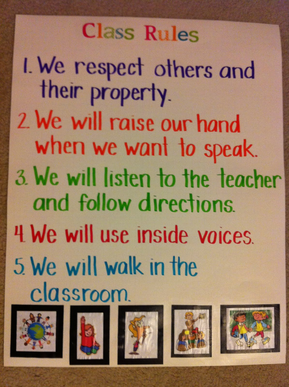 The Whole Trouble Is Classroom Rules And Expectations