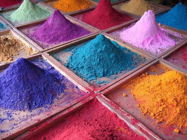 pigments for dying