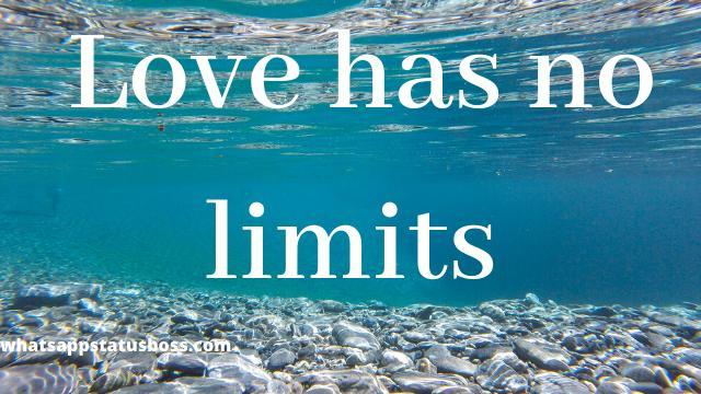 love has no limit