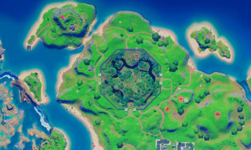 Where are Meat Leader, Priest and Test Doll in Fortnite season 5