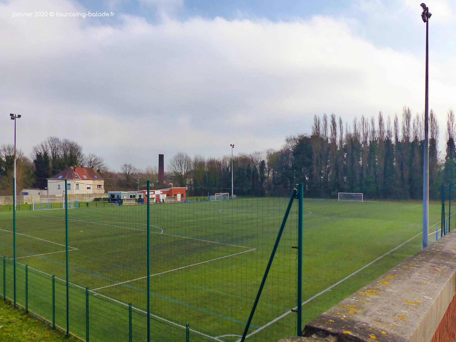 Stade du Tilleul, Football, Tourcoing.