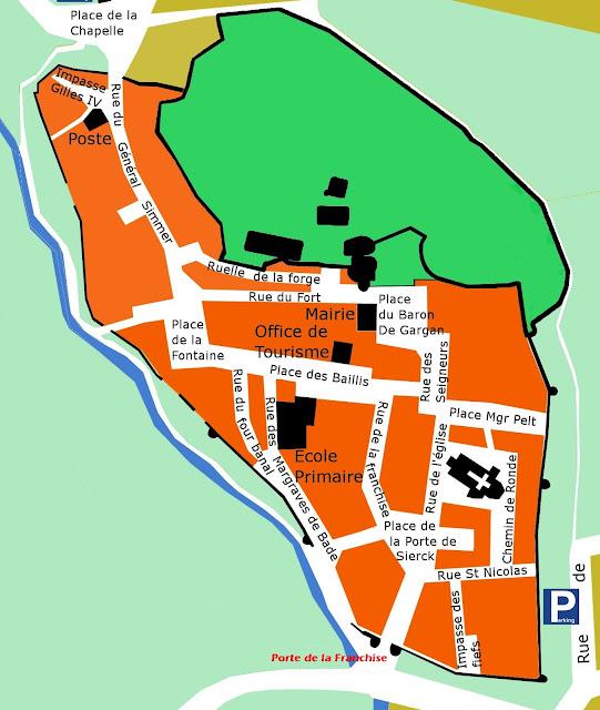 RODEMACK (57) - Remparts médiévaux