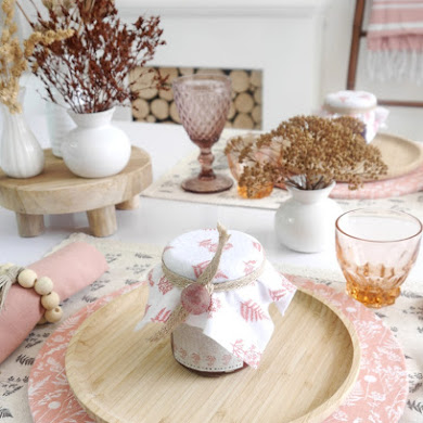 DIY Décor de Table d'Automne d'Inspiration Scandinave