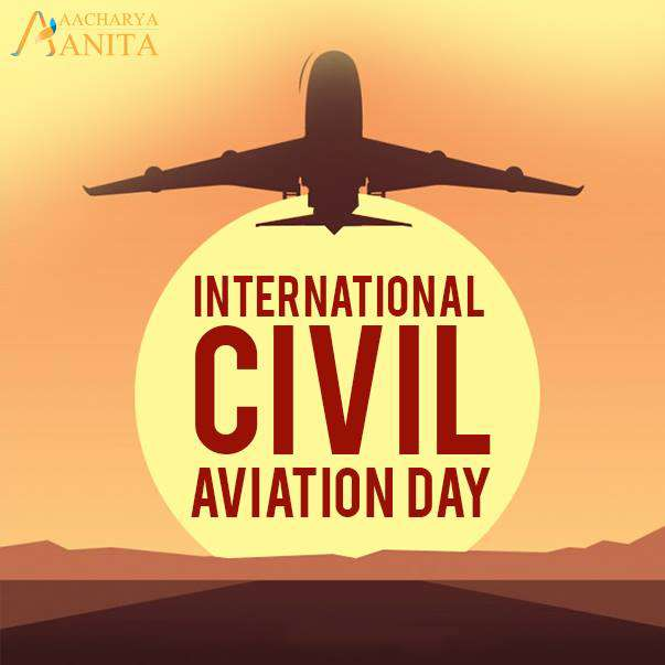International Civil Aviation Day Wishes Images