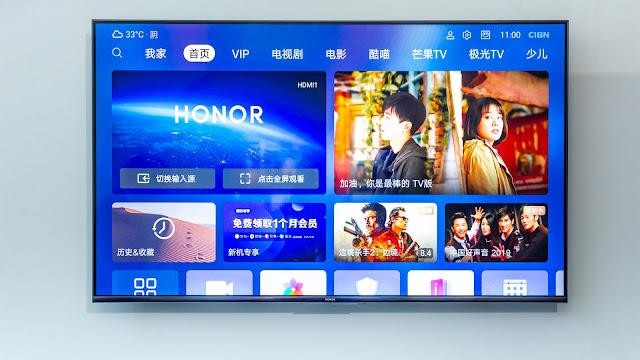 أعلنت هواوي عن تلفاز vision الجديد بنظامها هارموني مع الذكاء الإصتناعي