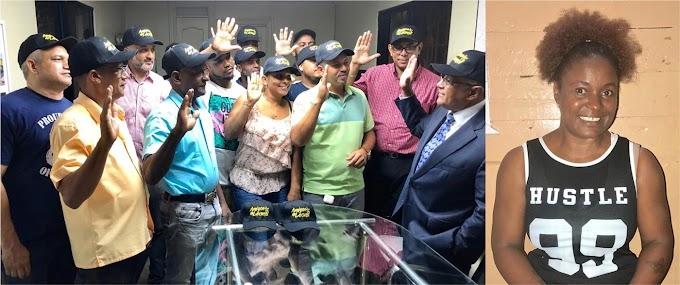 Amigos de Leonel juramenta dirigentes barriales en SD que se suman al apoyo en primarias