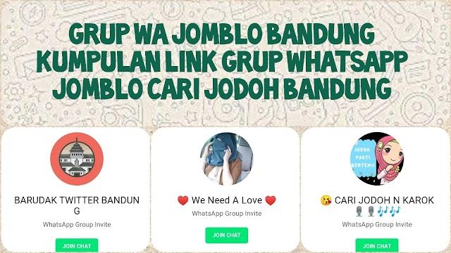 99+ Link Grup Whatsapp Jomblo 2021 (Cari Jodoh & Pacar)