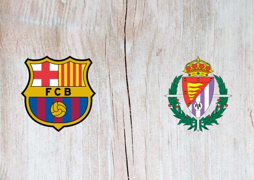 Barcelona vs Real Valladolid -Highlights 29 October 2019