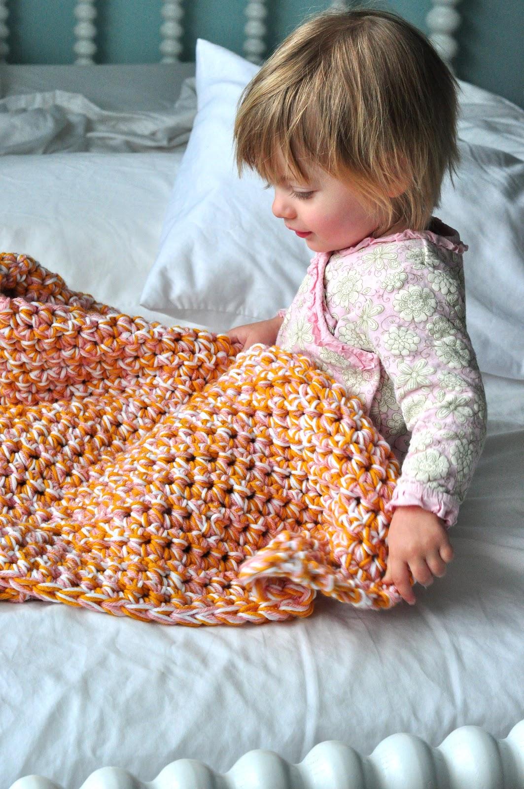 Aesthetic Nest Hoh In Crochet Easy Baby Afghan Tutorial