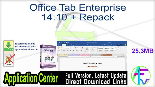 Office Tab Enterprise 14.10 + Repack