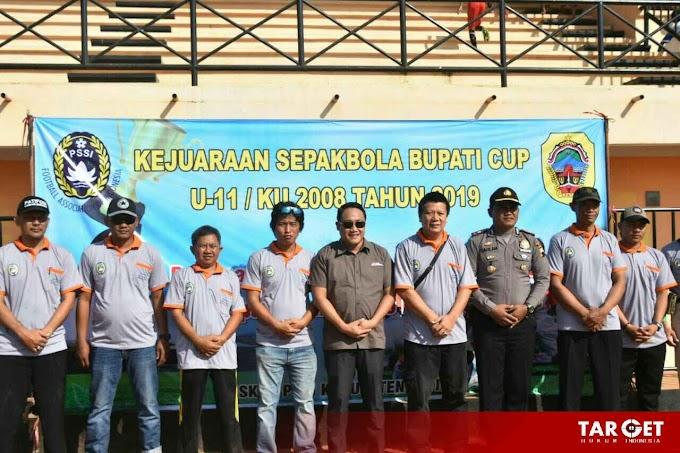 Cari Bibit Pesepakbola Unggulan, Pemkab Pati Gelar Turnamen BUPATI CUP KU 11