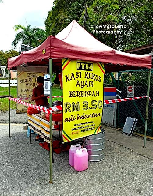 CHEAP FOOD RM3.50 NASI KUKUS AYAM GORENG BEREMPAH AT SUNGAI BESI KUALA LUMPUR