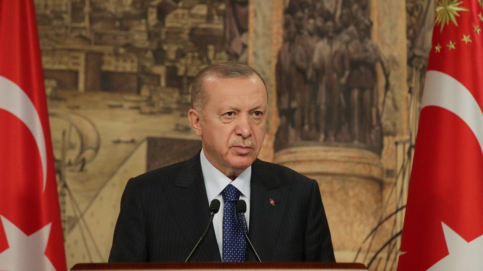 Νέο παραλήρημα Ερντογάν: Πολλοί μας βάζουν τρικλοποδιά