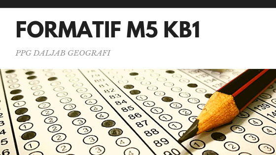 Soal dan Jawaban Tes Formatif Modul 5 KB 1