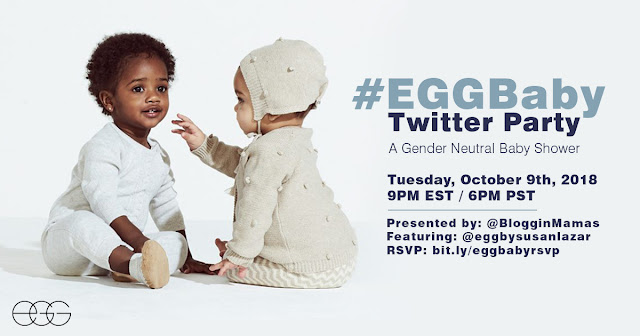 EGG Baby Gender Neutral Clother Twitter Party