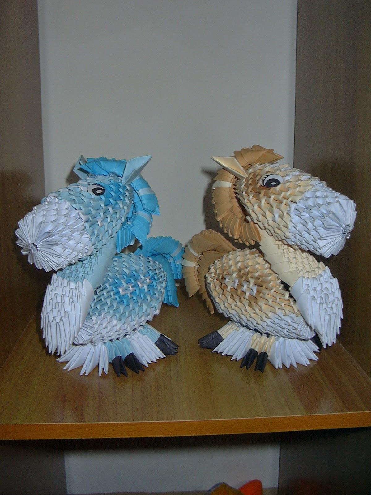 ICHANOKO 3D ORIGAMI INDONESIA: Model 3d origami - ANIMALS - photo#30