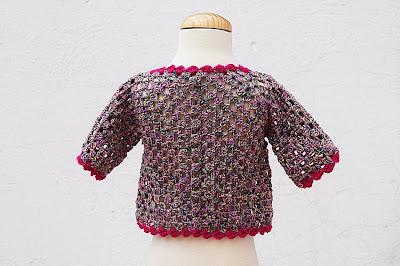 3 - Crochet IMAGEN Chaqueta de exagonos a crochet y ganchillo. MAJOVEL CROCHET