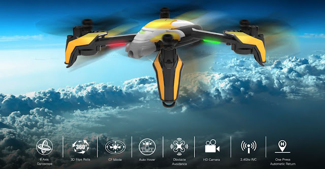 Kaideng-K90-quadcopter-Features