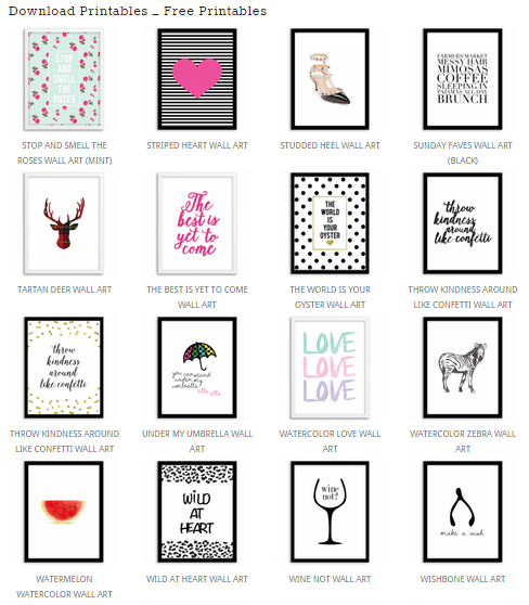 Free Printables Plakaty W Pokoju Dziecka Top 5 Stron Do