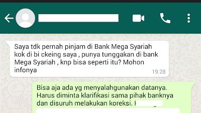 Mereka Mengakui Kalau Ada Kesalahan Sistem di Mega Finance