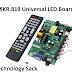 SKR.819 Universal ATV LED Board Firmware Free Download All Resolution