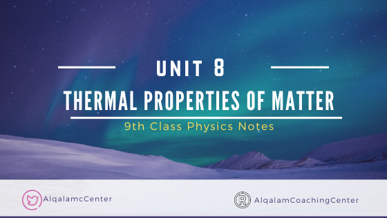 9th-class-physics-notes-for-chapter-8