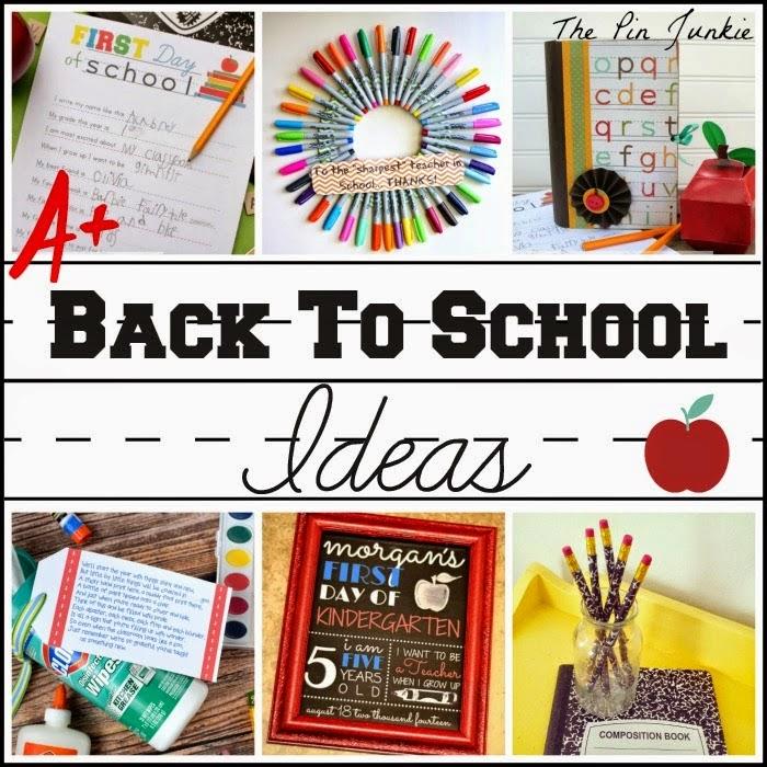 Back to School Ideas, shared by The Pin Junkie