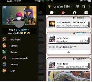 BBM MOD COC (Clash Of Clans) versi Terbaru 2.13.1.14